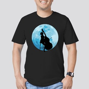 Under The Moonlight Men's Fitted T-Shirt (dark)
