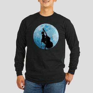 Under The Moonlight Long Sleeve Dark T-Shirt
