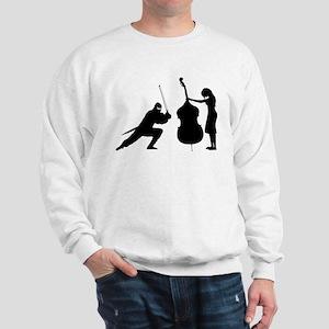 Double Bass Ninja Sweatshirt