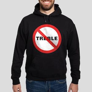 No Treble Hoodie (dark)