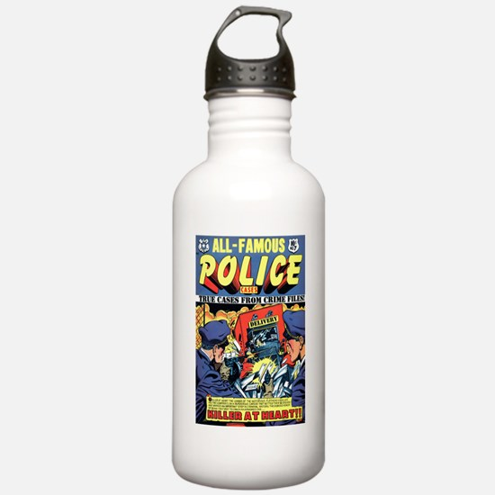 All-Famous Police Cases #7 Water Bottle