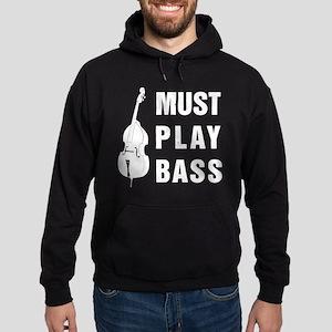 Must Play Bass Hoodie (dark)