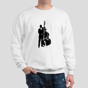 Double Bass Player Sweatshirt
