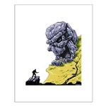 Disc Golf SKULL CAVE Small Poster