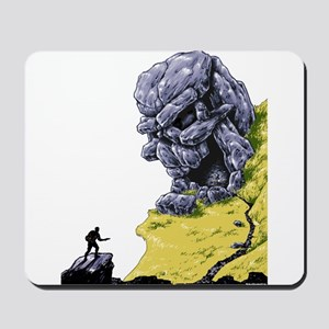 Disc Golf SKULL CAVE Mousepad