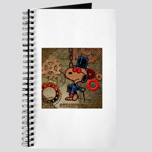 Steampunk Snoopy Journal