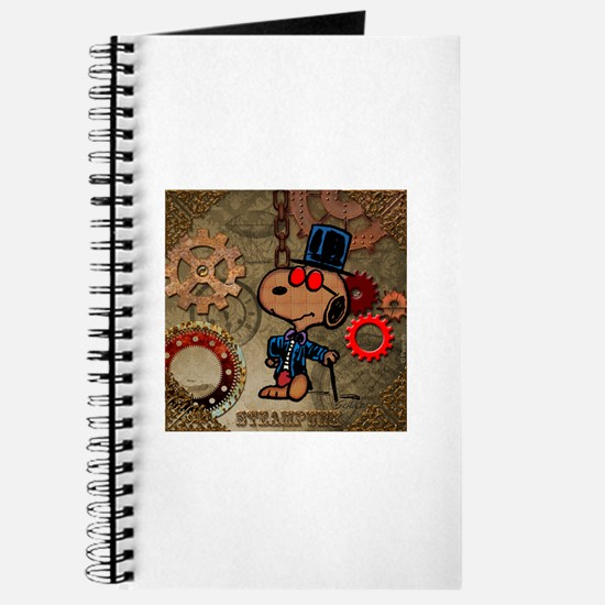 Steampunk Snoopy Journal