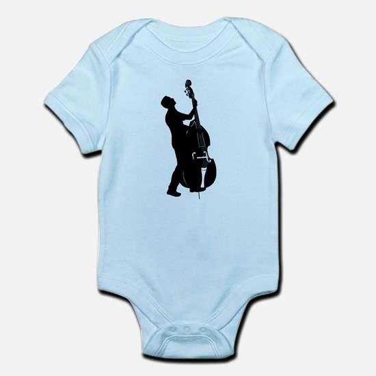 Double Bass Player Infant Bodysuit