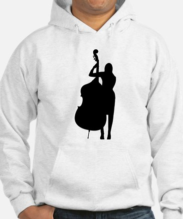 Double Bass Player Hoodie