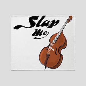 Slap Me Throw Blanket