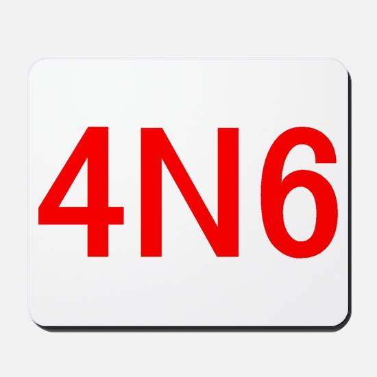 4N6 Mousepad
