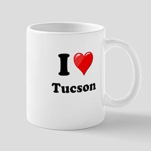 I Heart Love Tuscon Mug