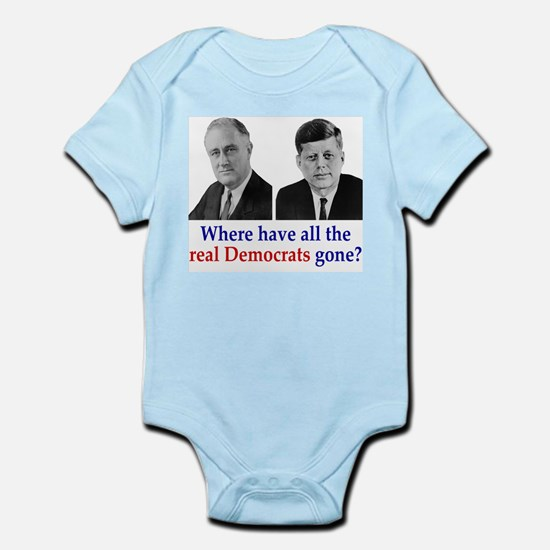 Real Democrats Infant Creeper