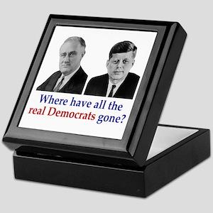 Real Democrats Keepsake Box