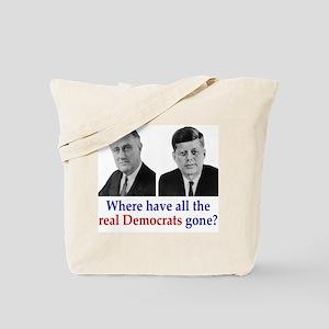 Real Democrats Tote Bag
