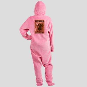 10-Wanted _V2 Footed Pajamas