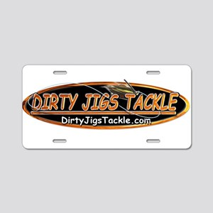 Dirty Jigs Tackle Aluminum License Plate