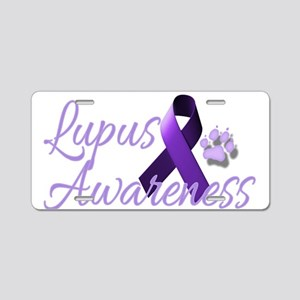 Lupus Awareness Aluminum License Plate