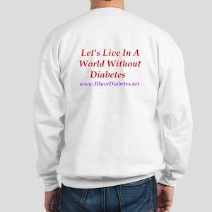 World Without Diabetes Sweatshirt