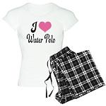 I Love Water Polo Women's Light Pajamas