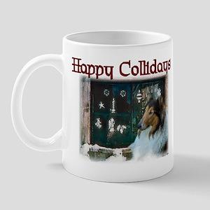 Rough Collie Christmas Gifts Mug