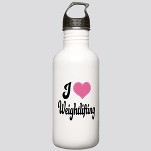 I Love Weightlifting Stainless Water Bottle 1.0L