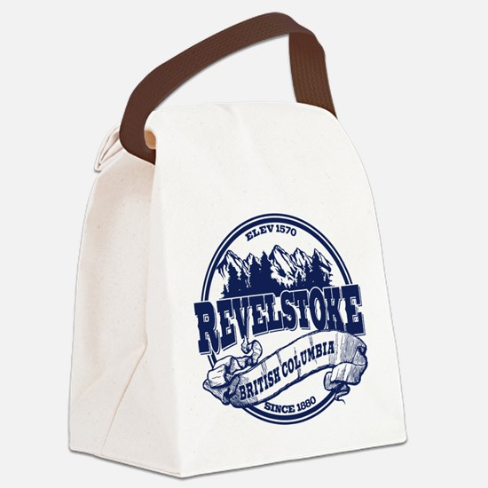 Revelstoke Old Circle Canvas Lunch Bag