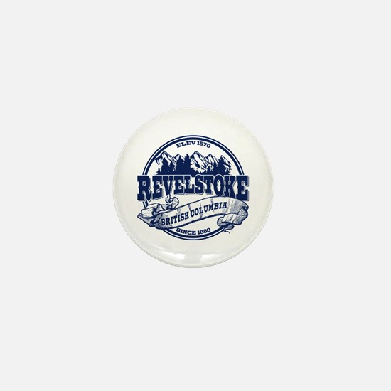 Revelstoke Old Circle Mini Button