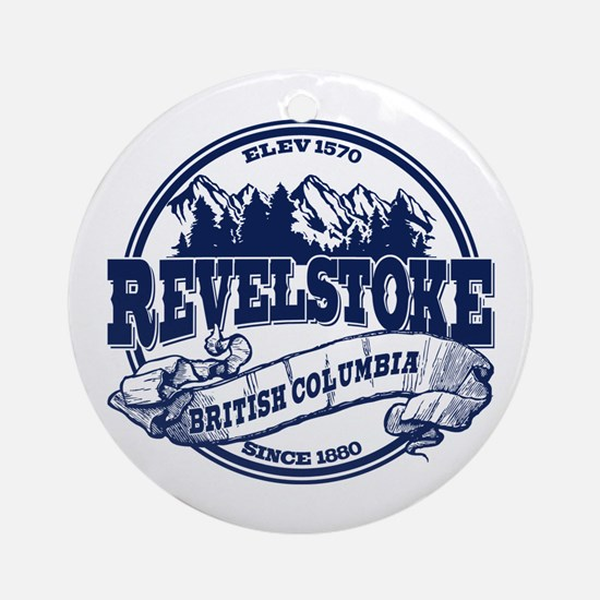 Revelstoke Old Circle Ornament (Round)