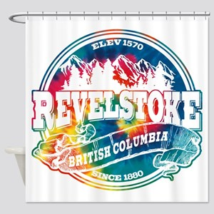 Revelstoke Old Circle Shower Curtain