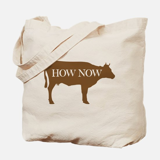 How Now Brown Cow Tote Bag