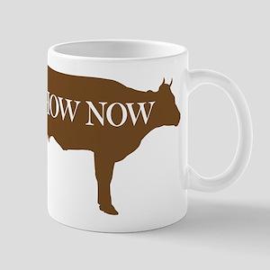 How Now Brown Cow Mug