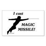 magicmissile Sticker (Rectangle 10 pk)