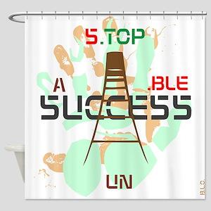 B.L.O. Sucess design Shower Curtain