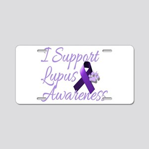 lupus2 Aluminum License Plate