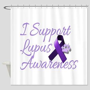 lupus2 Shower Curtain