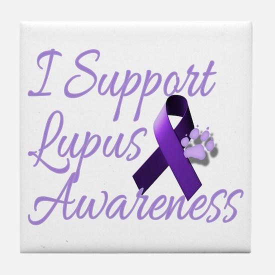 lupus2.png Tile Coaster