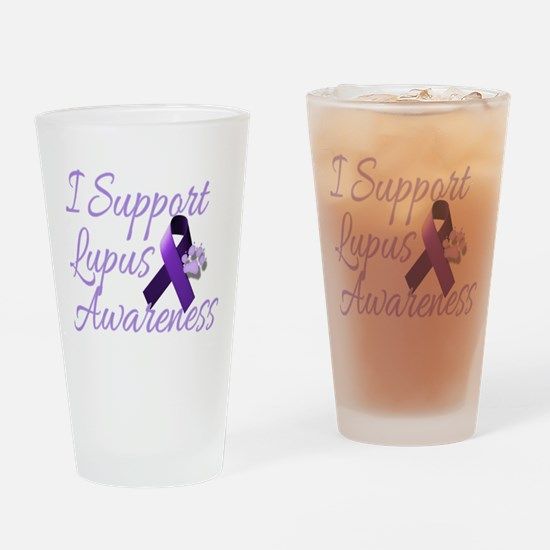 lupus2.png Drinking Glass