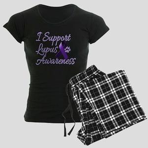 lupus2 Women's Dark Pajamas