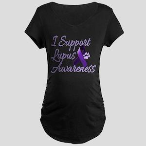 lupus2 Maternity Dark T-Shirt