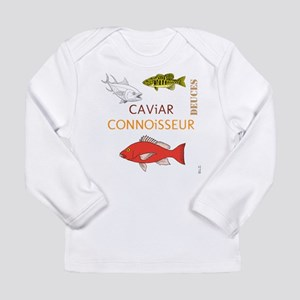 BLO Caviar Connoisseur design Long Sleeve Infant T