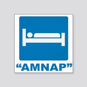 "AMNAP Square Sticker 3"" x 3"""