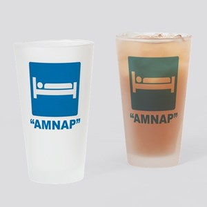 AMNAP Drinking Glass
