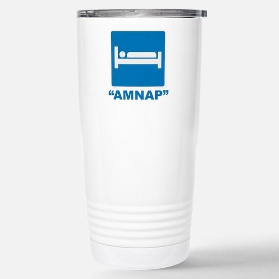 AMNAP Stainless Steel Travel Mug