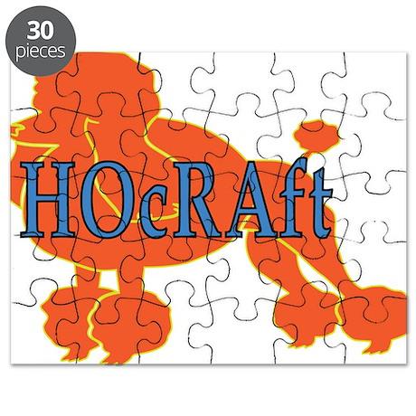HOcRAft Logo Puzzle