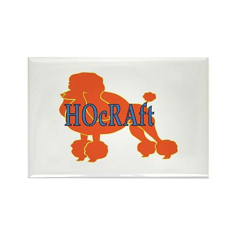 HOcRAft Logo Rectangle Magnet