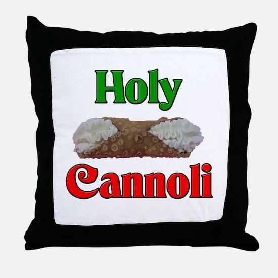 Holy Cannoli Throw Pillow