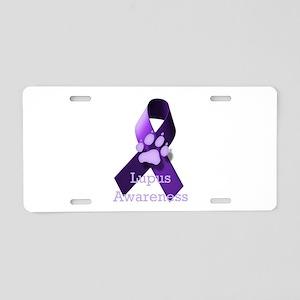Lupus Awareness Aluminum License Plate