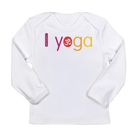 Yoga Town - I YOGA Long Sleeve Infant T-Shirt