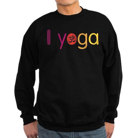 Yoga Town - I YOGA Sweatshirt (dark)